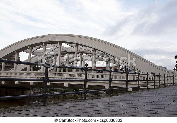 Clarke Quay Bridge - csp8836382