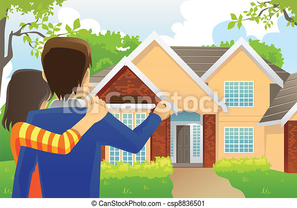 Looking for a House Clip Art