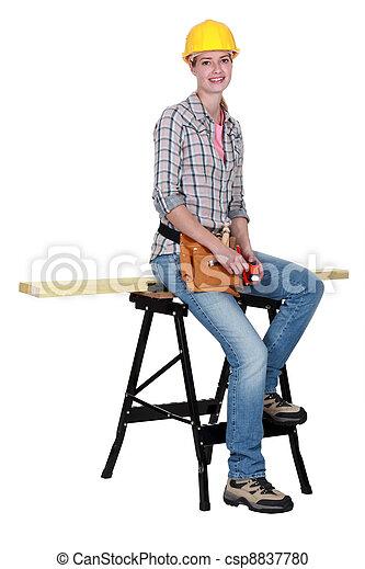 Female carpenter clipart - photo#24