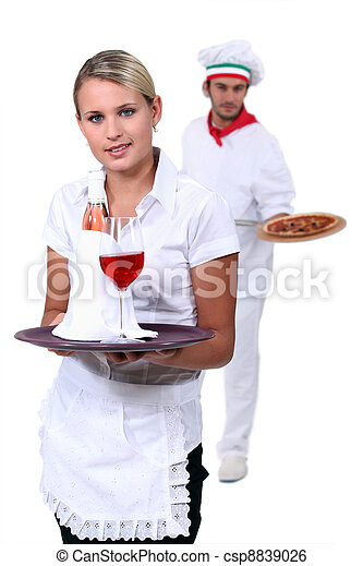Hospitality workers - csp8839026