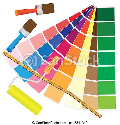 Colour management. - csp8841340