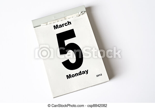5. March 2012 - csp8842082