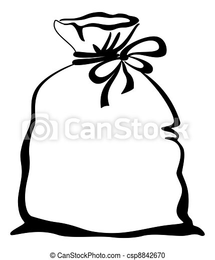 rice clipart black and white