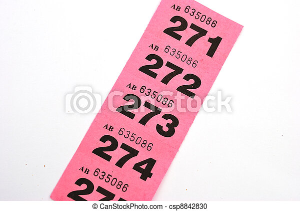 Stock Photography of line of raffle tickets csp8842830 - Search ...