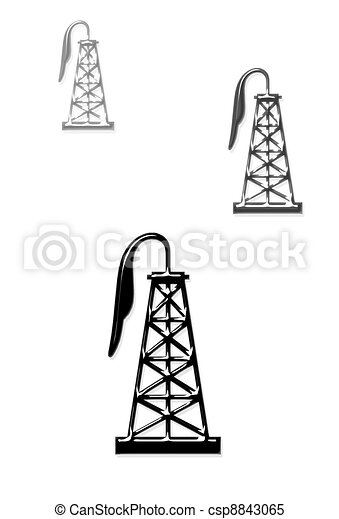 Oil Wells - csp8843065