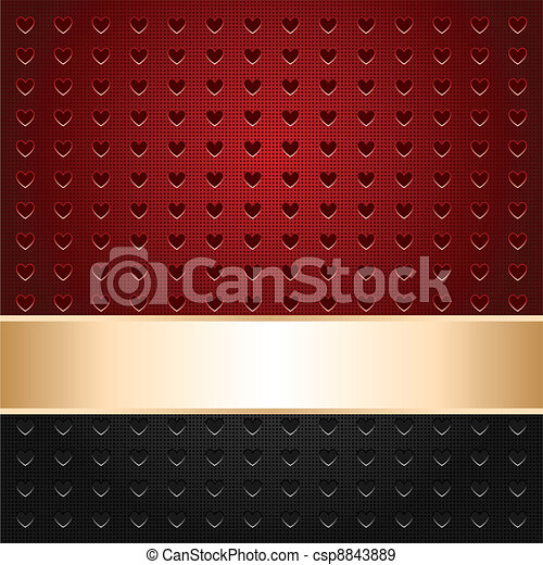 Background perforated in heart - csp8843889