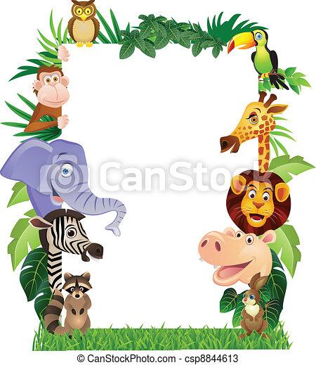 Animal Cartoon - csp8844613