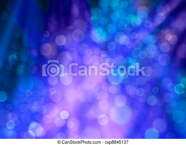 Patches and rays of light of blue and purple as celebratory background - csp8845137