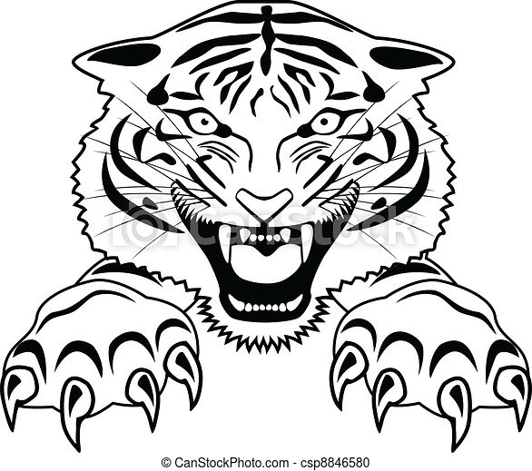 Tiger Clipart and Stock Illustrations. 16,557 Tiger vector EPS ...