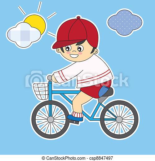 Vetor crian a bicicleta estoque de ilustra o for Sala de estar 3x5