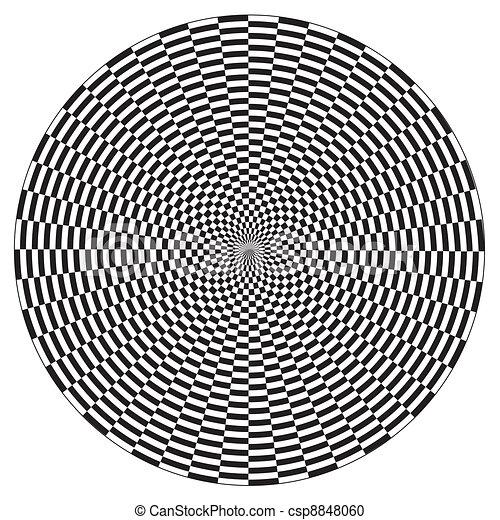 Spiral Illusion Design Pattern - csp8848060