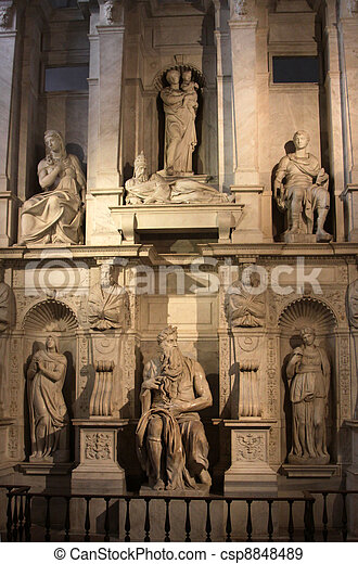 San Pietro in Vincoli Sculpture - csp8848489