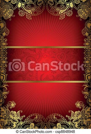 Book Cover Design - csp8848948