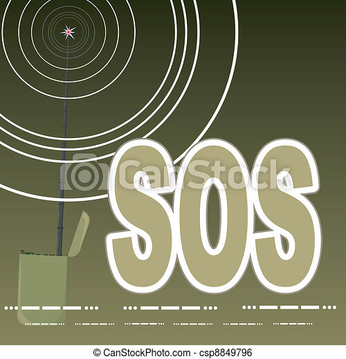The signal SOS - csp8849796