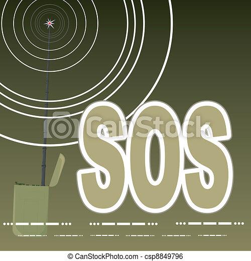 The signal SOS - csp8849796