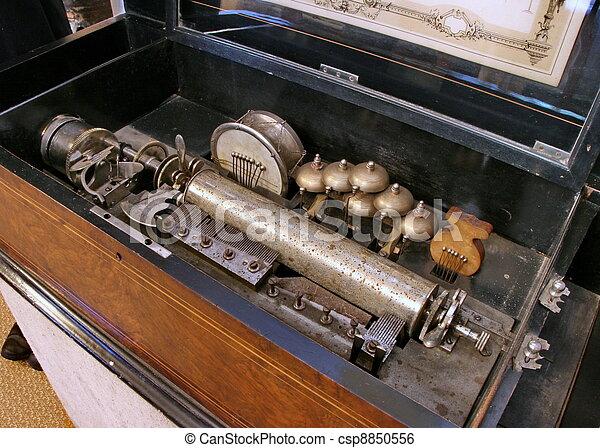 obsolete antique sound output phonograph - csp8850556