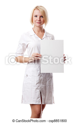 Woman doc - csp8851800