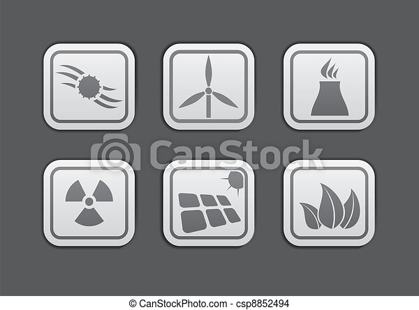 Energy icon - csp8852494