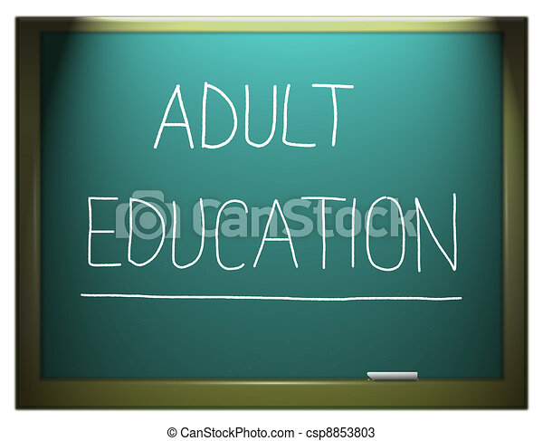 Adult education. - csp8853803