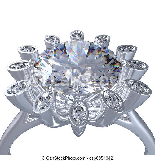 450 x 470 · 38 kB · jpeg, Diamond ring on white bacground