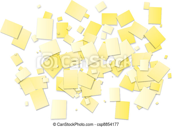 white rectangles background - csp8854177