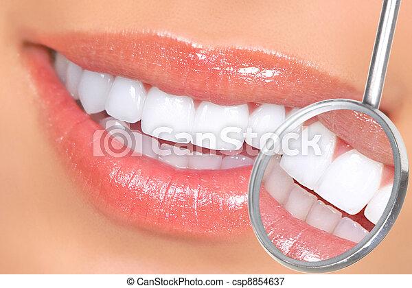 牙齒 - csp8854637