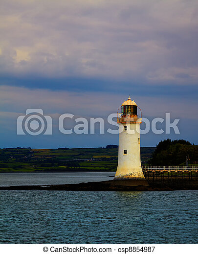 Tarbert Lighthouse - csp8854987