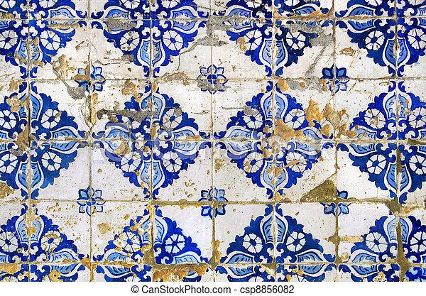 Portuguese tiles - csp8856082