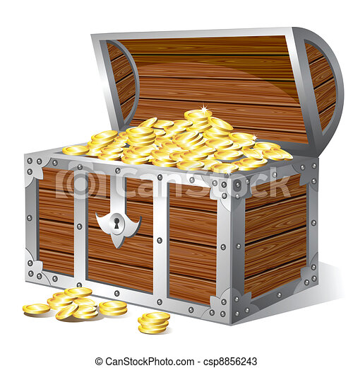 Treasure chest - csp8856243