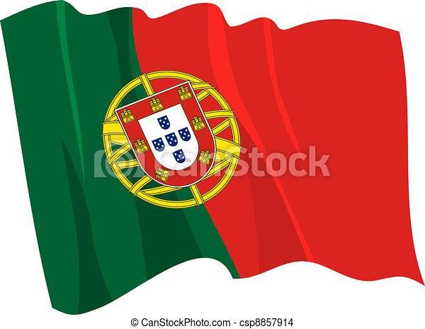 Vecteur eps de drapeau portugal drapeau de portugal csp8857914 recherchez des images - Dessin drapeau portugal ...