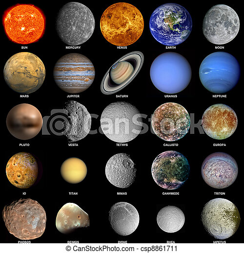 all planets colors - photo #17