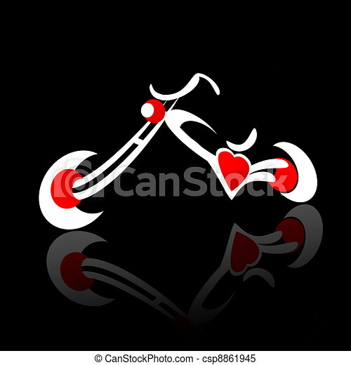 Chopper Motocycle - csp8861945