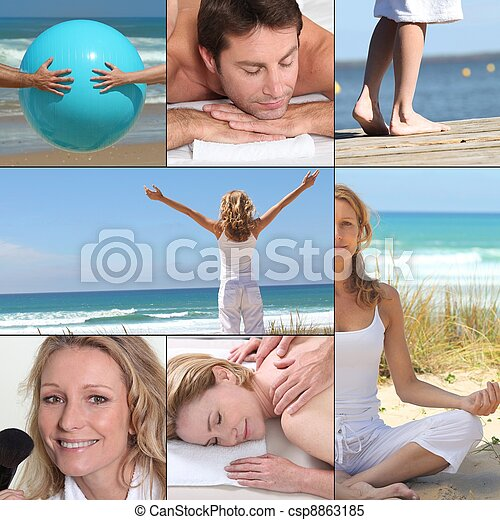 Beauty and relaxation - csp8863185