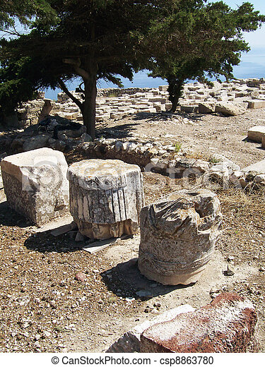 ancient thira 10 - csp8863780