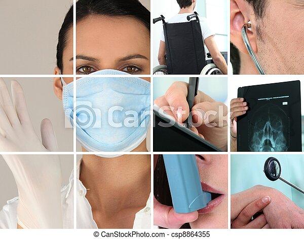 Healthcare images - csp8864355