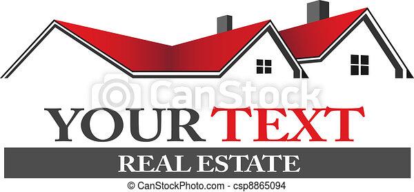 Real estate logo - csp8865094