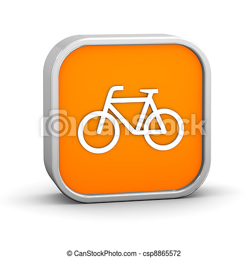 Bicycle sign - csp8865572