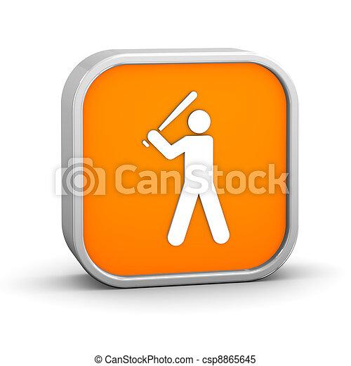 Baseball sign - csp8865645