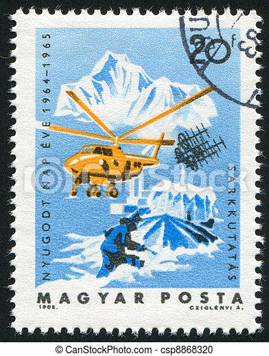 Arctic exploration - csp8868320