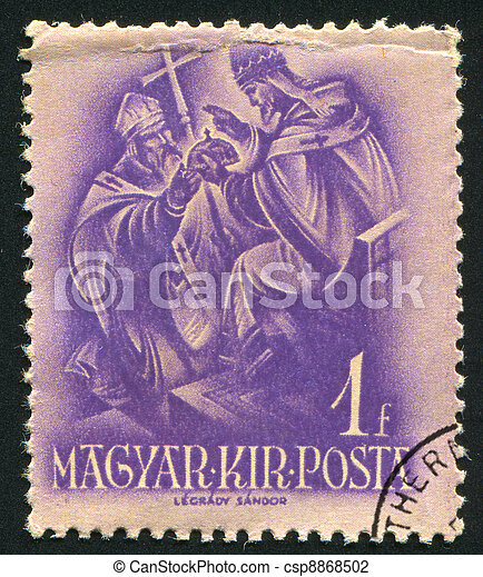 pope Sylvester II - csp8868502