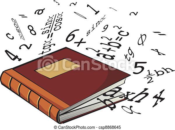 school textbook - csp8868645