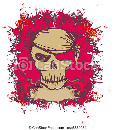Skull Pirate  - csp8869234