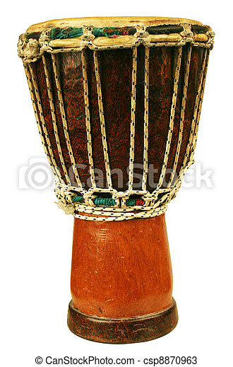 Traditional djembe - csp8870963