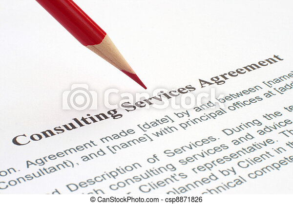 Consulting service agreement - csp8871826