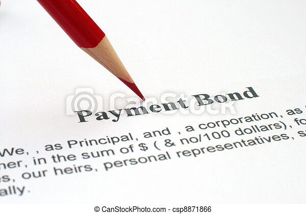 Payment bond - csp8871866