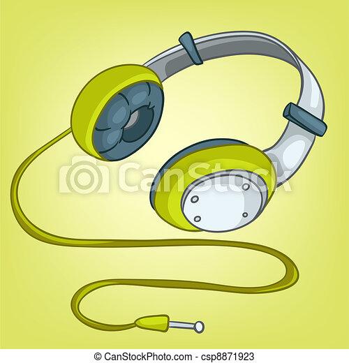 Cartoons Home Appliences Headphone - csp8871923