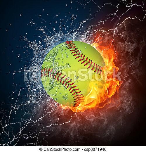 Baseball Ball - csp8871946