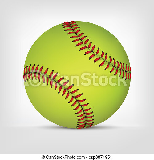 Baseball ball - csp8871951