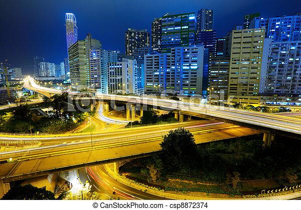 night city Hong Kong