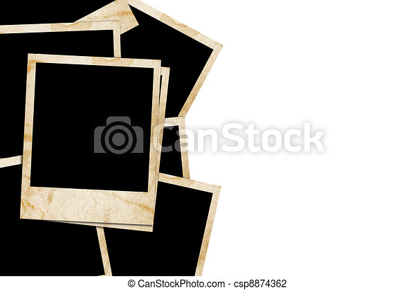 slides isolated on a white back ground - csp8874362